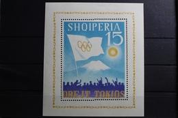 Albanien Block 22 Mit 827 ** Postfrisch Olympische Spiele #RV654 - Albania