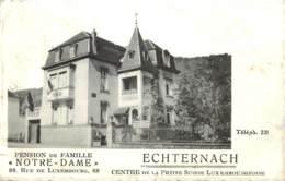 Luxembourg - Echternach - Pension De Famille ' Notre-Dame ' - Echternach