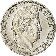 Monnaie, France, Louis-Philippe, 1/4 Franc, 1837, Lille, TTB, Argent - France