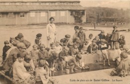 """Saint-Gilles - Ecole En Plein Air """" La Sablonnière """" - Le Bassin - St-Gilles - St-Gillis"""