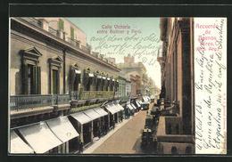 AK Buenos Aires, Calle Victoria Entre Bolivar Y Perú - Argentina