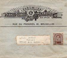 Preo Roulette Sur Manchon Avec Publicité TABACS - CIGARES - CIGARETTES - Roller Precancels 1910-19