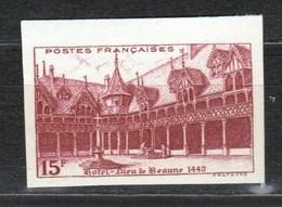 France N°539a ** BdF Non Dentelé - France