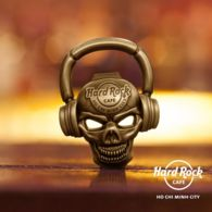 HRC Hard Rock Cafe Ho Chi Minh City Vietnam Viet Nam 3D Skull Bottle Opener / Brand New - Other