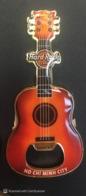 HRC Hard Rock Cafe Ho Chi Minh City Vietnam Viet Nam Red Guitar Bottle Opener Magnet 2020 / Brand New - Other