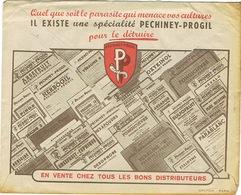 ENVELOPPE AU VERSO ILLUSTRE PECHINEY-PROGIL SACO NANTES - 1921-1960: Modern Tijdperk