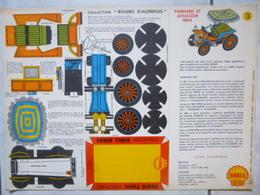 Carton Prédécoupé Shell N°3 Panhard Et Levassor 1894 - Bolides D'Autrefois - Carton / Lasercut