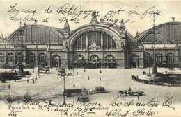 Frankfurt A M Hauptbahnhof RV Beau Timbre 10 Cachet - Frankfurt A. Main