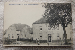 """Montigny-le-Tilleul """"Rue De Bomerée (Belle Femme)"""" - Montigny-le-Tilleul"""