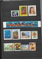 Polynésie Française Timbres Poste N°462 à 476 Neuf** - Collections, Lots & Séries