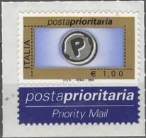 Italia 2002 Posta Prioritaria 1€ - 6. 1946-.. Repubblica
