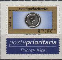 Italia 2003 Posta Prioritaria 1€ - 6. 1946-.. Repubblica