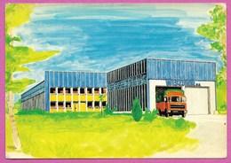 70 Haute Saone Luxeuil Les Bains Carte Representant Entreprise Wiszner Ménage Verrerie Vaisselle Env De Lure Vesoul - Luxeuil Les Bains