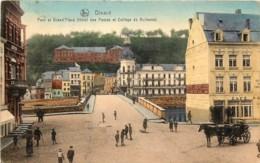 Dinant - Pont Et Grand' Place - Hôtel Des Postes Et Collège De Bellevue - Dinant