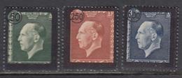 Grece 1947 - Death Ot King George II, Mi-Nr. 538/40, MNH** - Griechenland