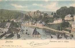 Vallée De La Semois - Nels Série 40 N° 125 - Bouillon - Panorama Avec Le Châteu - Couleurs - Bouillon