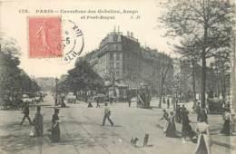 FRANCE -75 - Paris - 13eme Arr; - Carrefour Des Gobelins , Arago , Et Fort Royal - District 13
