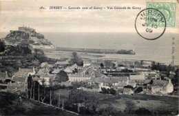 U.K. - Jersey - Général View Of Gorey - N° 180 -  Edit H.G. Allix - Jersey