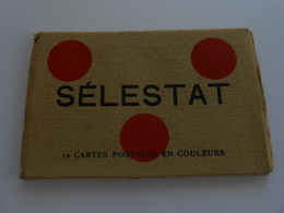 Sélestat  12 Cartes Postales   Carnet Complet - Selestat