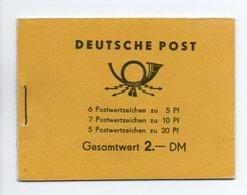 - ALLEMAGNE ORIENTALE / DDR - Yvert Carnet N° 314 Neuf ** (Michel MH2) - Cote 175 EUR - - Markenheftchen