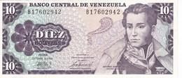 BILLETE DE VENEZUELA DE 10 BOLIVARES DEL AÑO 1981 CALIDAD EBC (XF) (BANK NOTE) - Venezuela