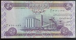 RS - Iraq 50 Dinar Banknote 2003 #B/10 3620727 - Iraq