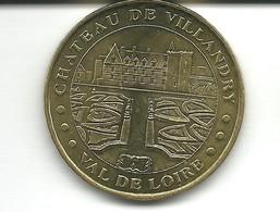 Jeton Monnaie De Paris , Chateau De Villandry , Année 2000 - Monnaie De Paris