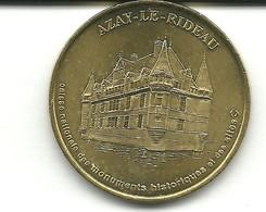 Jeton Monnaie De Paris , Azay Le Rideau, Année 2000 - Monnaie De Paris