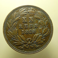 Portugal XX Reis 1883 - Portugal