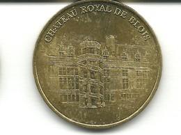 Jeton Monnaie De Paris , Chateau Royal De Blois, Année 2000 - Monnaie De Paris
