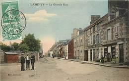 53 - LANDIVY - LA GRANDE RUE - Landivy