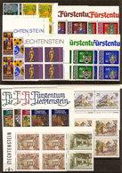 (Fb).Liechtenstein.1981.Serie Complete In Quartine Nuove,gomma Integra,MNH (56-20) - Liechtenstein