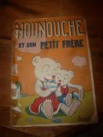 1951 NOUNOUCHE Et Son Petit Frère,   Texte Et Dessins De DURST - Altri Oggetti Fumetti