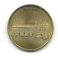 Jeton Monnaie De Paris , Chateau De Chenonceau, Millenium édition Limitée 2001 - Monnaie De Paris