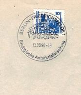 Berlin Friedrichsfelde 1990 - Biologische Antarktisforschung - Krebstierchen SST - Albrechtsburg Meissen - Antarctic Wildlife