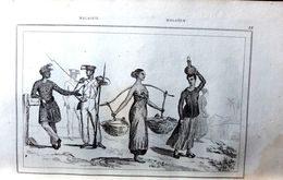OCEANIE AUSTRALIE JAVA TIMOR PHILIPINES RECUEIL DE 100 GRAVURES + 2 CARTES 1836  PAYS  ETHNOLOGIE ART PRIMITIF - Books, Magazines, Comics