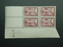 Maroc Yvert 141 Coin Daté 12.7.35 - Ongebruikt