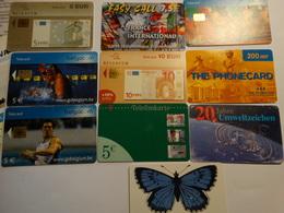 Lot De 10 Cartes De Téléphone Prépayées - Telefonkarten