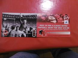 Publicité - Coca Cola - France 98 World Cup, Football - Publicité