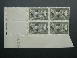 Maroc Yvert 143A Coin Daté 4.7.34 - Ongebruikt