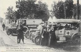 PRETRES AMBULANCIERS - Weltkrieg 1914-18