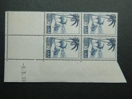 Maroc Yvert 196 Coin Daté 9.3.39 - Nuevos
