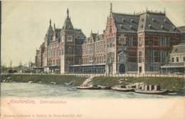 Pays-Bas - Amsterdam -Centraalstation- Kleuren Lichtdruk S. Bakker Jz. Koog-Zaandijk N° 1057 - Amsterdam