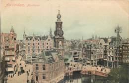 Pays-Bas - Amsterdam -Munttoren- Kleuren Lichtdruk S. Bakker Jz. Koog-Zaandijk N° 1059 - Amsterdam