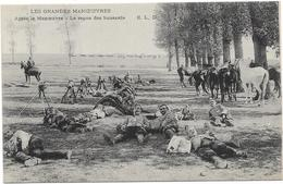 LE REPOS DES HUSSARDS - Weltkrieg 1914-18