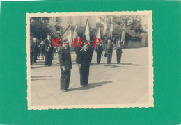 Photo Carte -  NERAC (Lot Et Garonne) -  Souvenir Des A. C. De L'U.F. Le 12 Septembre 1948 - Nerac