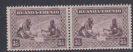 Ruanda-Urundi 1931 Inheemse Mensentypen 3.25Fr (pair; Met Albumplooi)  ** Mnh (47494B) - 1924-44: Mint/hinged