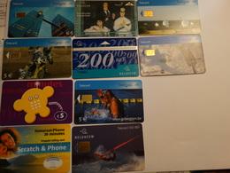 Lot De 10 Cartes De Téléphone Prépayées - Phonecards