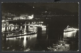 CPA--MONACO--MONTE-CARLO--ILLUMINATIONS AU PORT--1960 - Hafen