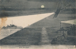 GUERRE NAVALE 1914-15-1916 - AVION FRANCAIS RENTRANT DE RECONNAISSANCE A BORD DU TORPILLEUR DUNOIS - Oorlog
